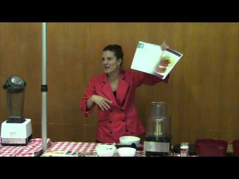 "Jennifer Cornbleet, Raw Demo: ""Raw Food Made Easy"""