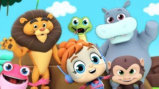 Walking In The Jungle | Best Nursery Rhymes | Kids Video Songs | Children Learning  by The Supremes