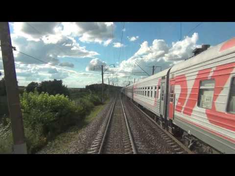 Скорый фирменный поезд № 30 Москва-Новороссийск.