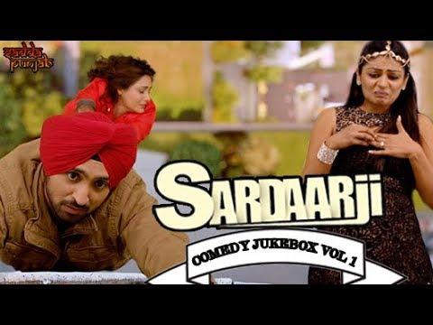 Sardaar Ji Comedy Jukebox Vol 1 | Comedy Scenes | Sardaarji | Diljit Dosanjh