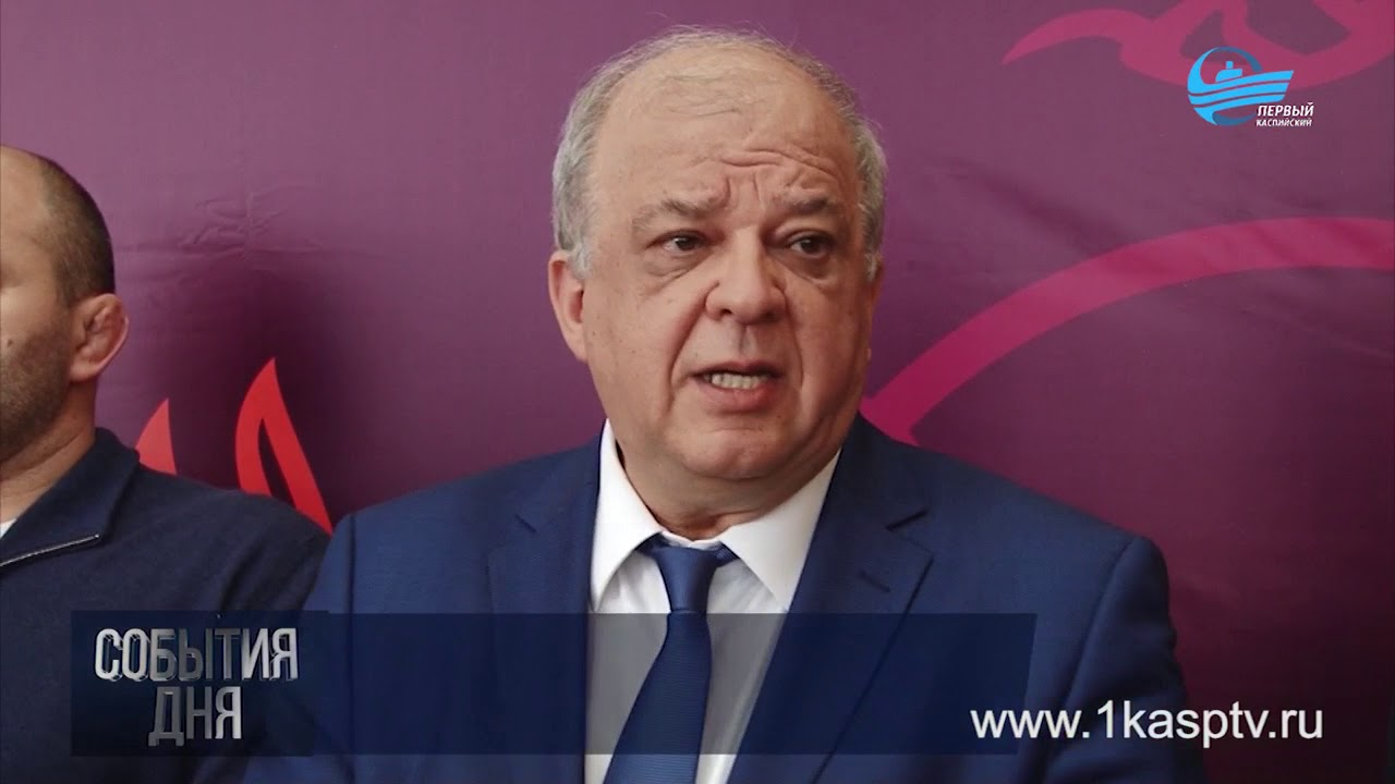 Первый  заместитель Председателя Правительства республики Дагестан Анатолий Карибов с рабочим визитом посетил Каспийск