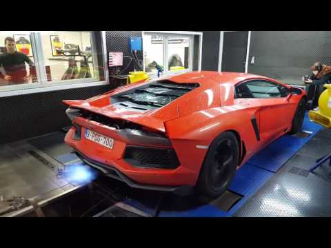 Pushing the POG Aventador to the LIMIT !! BIG FLAMES
