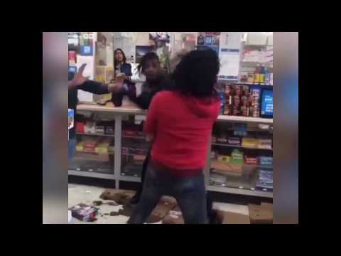 LMFAO RICO RECKLEZZ FIGHTS LIL MISTER AT GAS STATION IN CHIRAQ