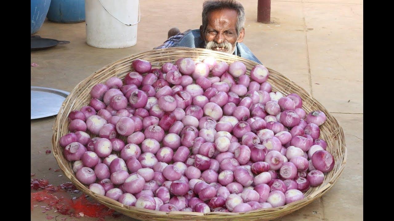 30 KG ONION PAKODA Prepared by DADDY ARUMUGAM / Village food factory