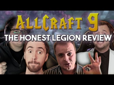 ALLCRAFT #9 - The Honest Legion Review ft. Asmongold, Preach Gaming, Hotted & Rich!