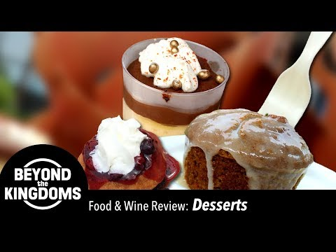 Epcot Food & Wine Festival Best Desserts