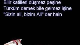 Ozan Ersun Bağcı - iki Ali vardır birisi MAVRA (şiir)