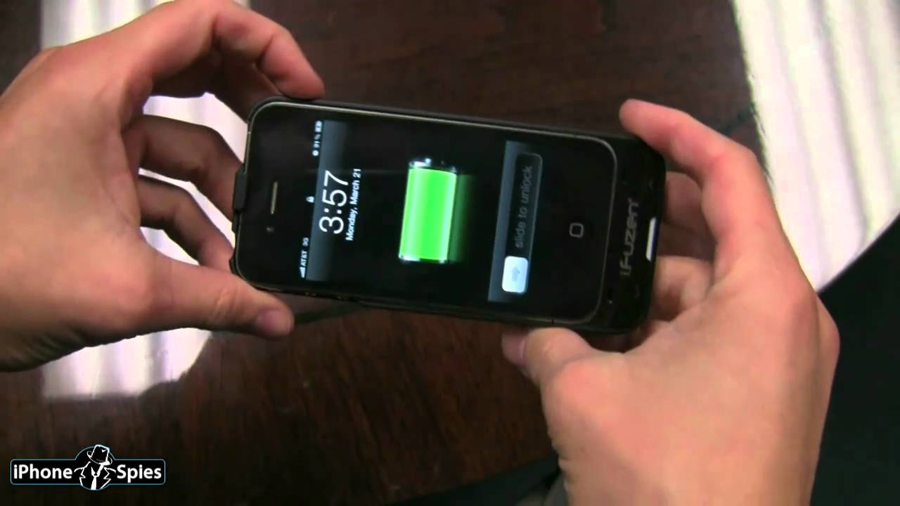 low priced 13d09 e928d iFuzen HP-1 iPhone 4 Charger Case Unboxing Review
