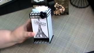 Project Share -- Tea Bag Dispenser Box