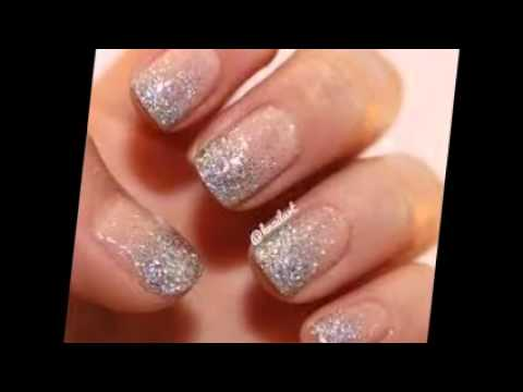 Nail Art Glitter Latest 2014 Images Youtube