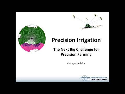 Precision Irrigation: The Next Big Challenge for Precision F