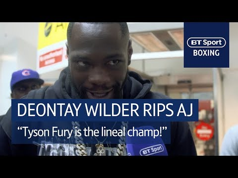 Deontay Wilder crashes Tyson Fury's weigh-in, argues with John Fury
