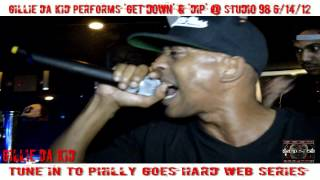 Gillie Da Kid Performs GET DOWN ON DA GROUND & DIP @ Studio 98 Nite Club Phila, PA 06 14 12