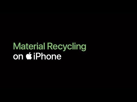 iPhone — Material Recycling — Apple thumbnail