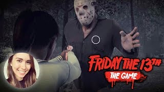 [ Friday the 13th ] CLUTCH ESCAPE BY CAR + Killer gameplay
