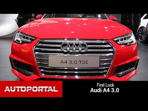 Audi A4 First Look Auto Expo 2016- Auto Portal