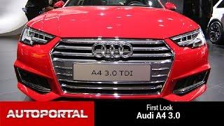 Audi A4 First Look Auto Expo 2016- Auto Portal