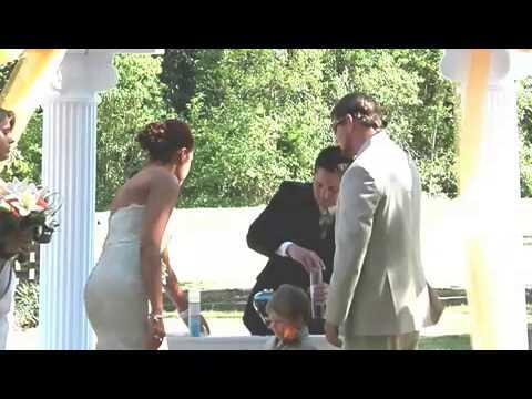 Brandon & Kirstin Lynn Wedding Ceremony