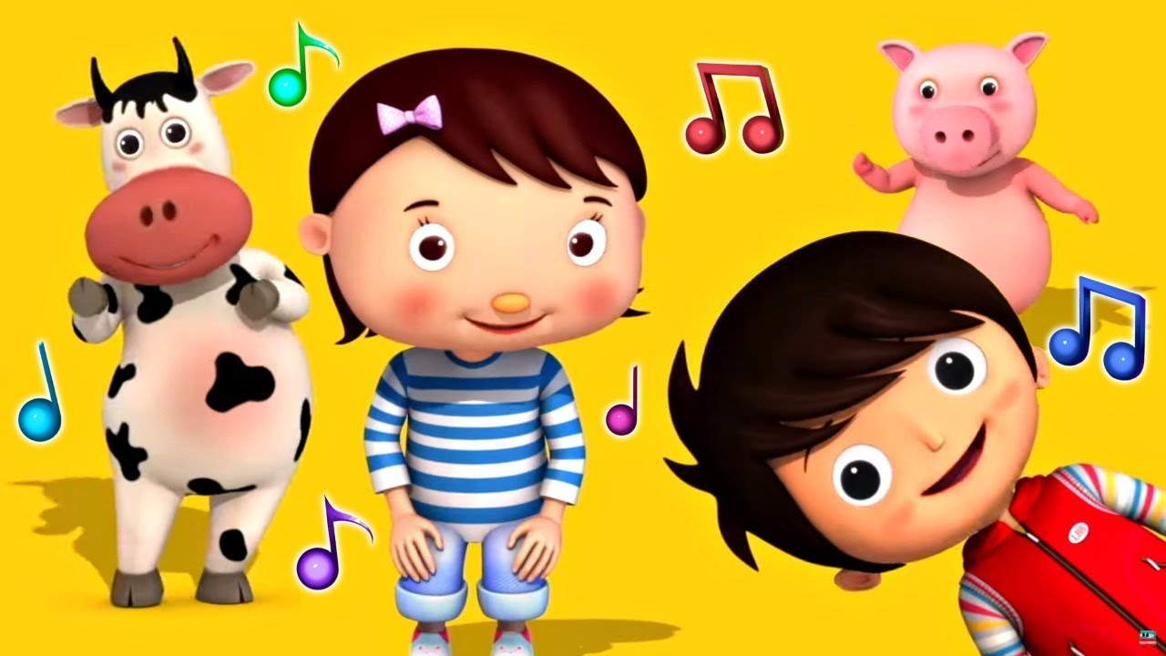 Если счастлив ты сегодня - Детский танец - Музыкальные мультики Литл Бэйби Бам