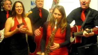 Traveling Voices Quintett mit Saxophonistin - All shook up
