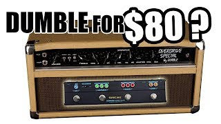 $80k Dumble tone for $80? (Sonicake Twiggy Blues - A Sonic Revolution? You be the judge)