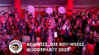 Schwiiz, die rot-wissi Guggeparty 2020 - SCHLANGEFÄNGER 1964 BASEL
