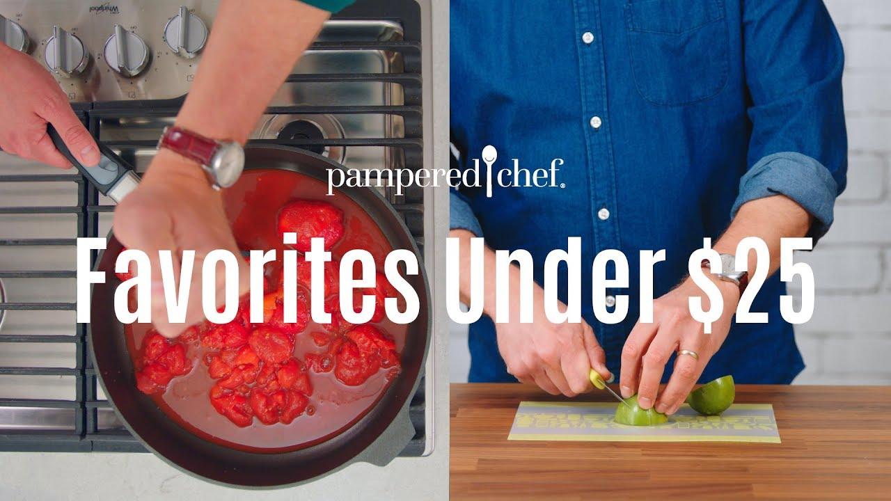 Favorite Kitchen Tools Under 25 Pampered Chef Youtube