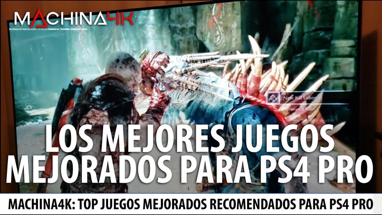 Los Mejores Juegos Mejorados Para Ps4 Pro Playstation 4 Pro Juegos