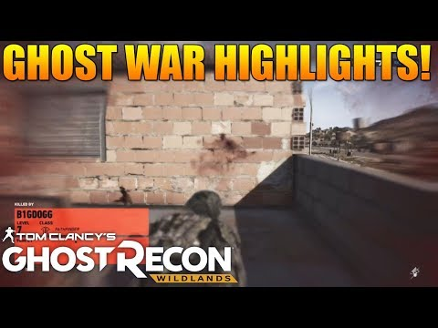 SHOT THROUGH A BUILDING BECAUSE OF LATENCY! - Ghost Recon Wildlands PVP Highlights #9