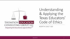Understanding & Applying the Texas Educator