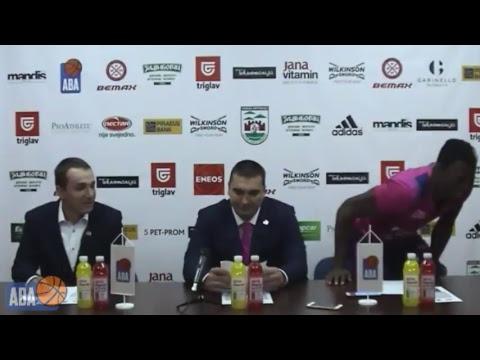 LIVE Press   KK Mega Bemax - KK Cibona (01.10.2017.)