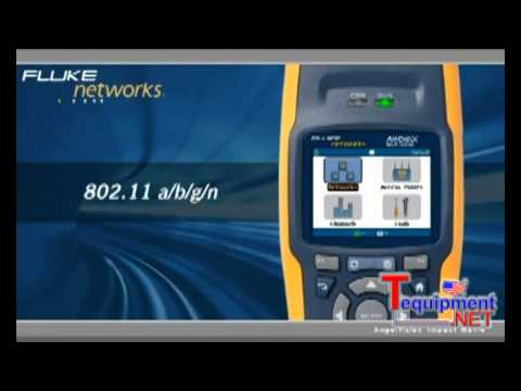 Fluke Networks AirCheck Wi-Fi Tester Makes Wireless Troubleshooting Simple