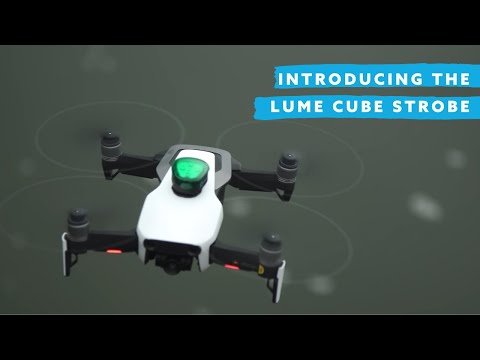 The Lumecube Strobe is an anti-collision light for drones
