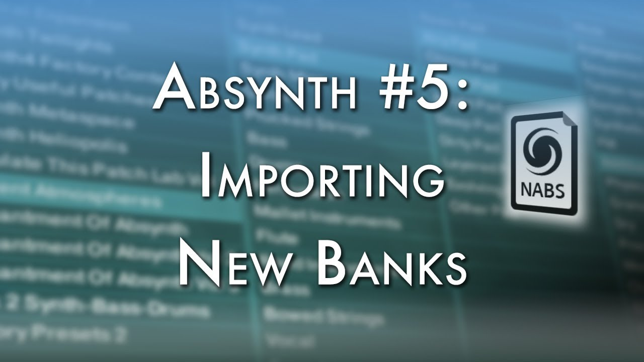 where are absynth presets stored