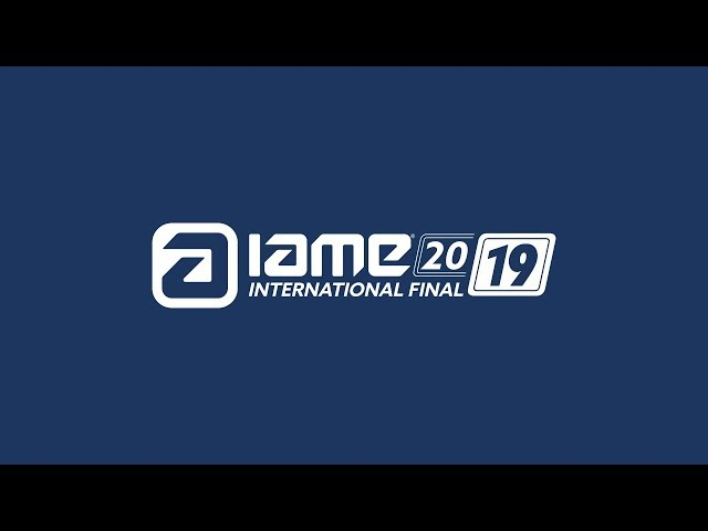 IAME International Final 2019 Live stream Wednesday