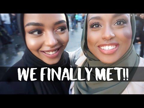 FINALLY MET MY TWIN!! | Aysha's Weekend Vlog