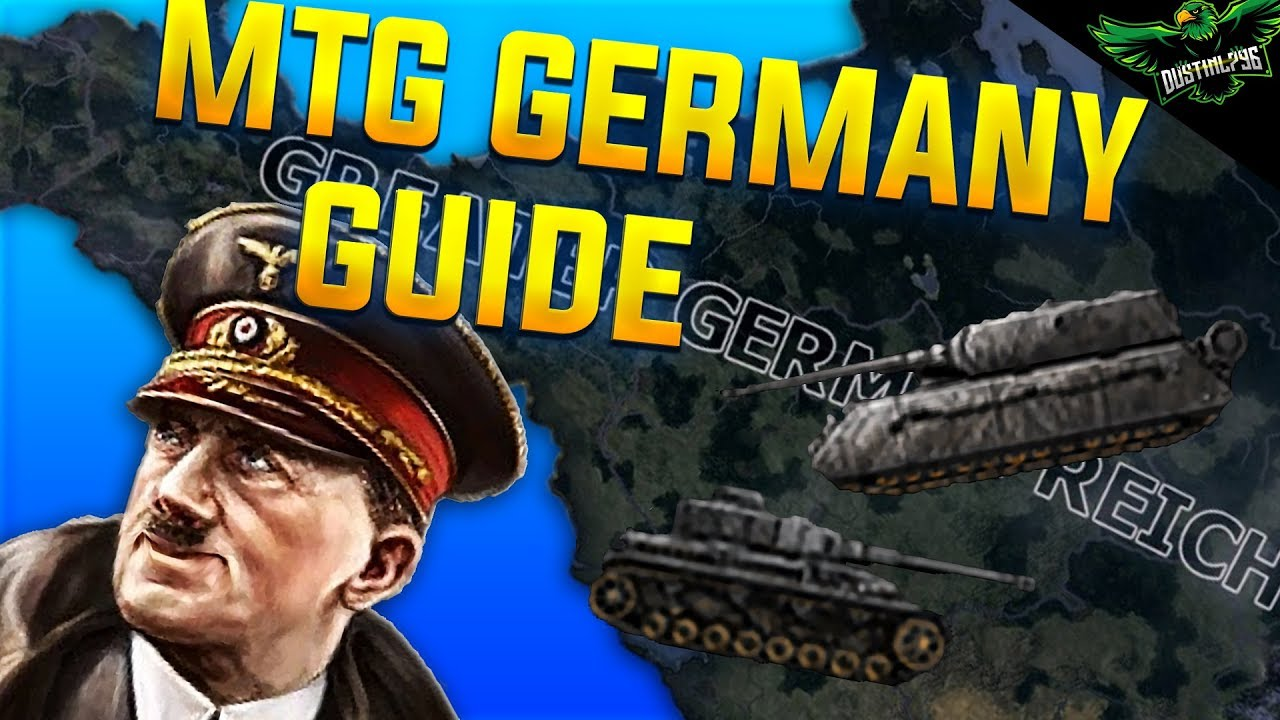 Hearts of Iron 4 Man the Guns Germany Guide 1936 - 1945 (HOI4 MTG Germany  Tutorial Guide)