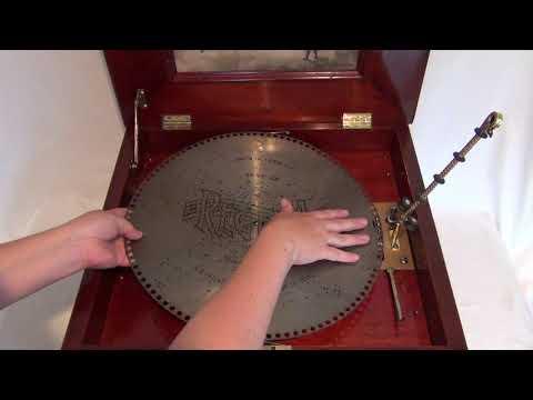 Regina Disc Music Box Demo