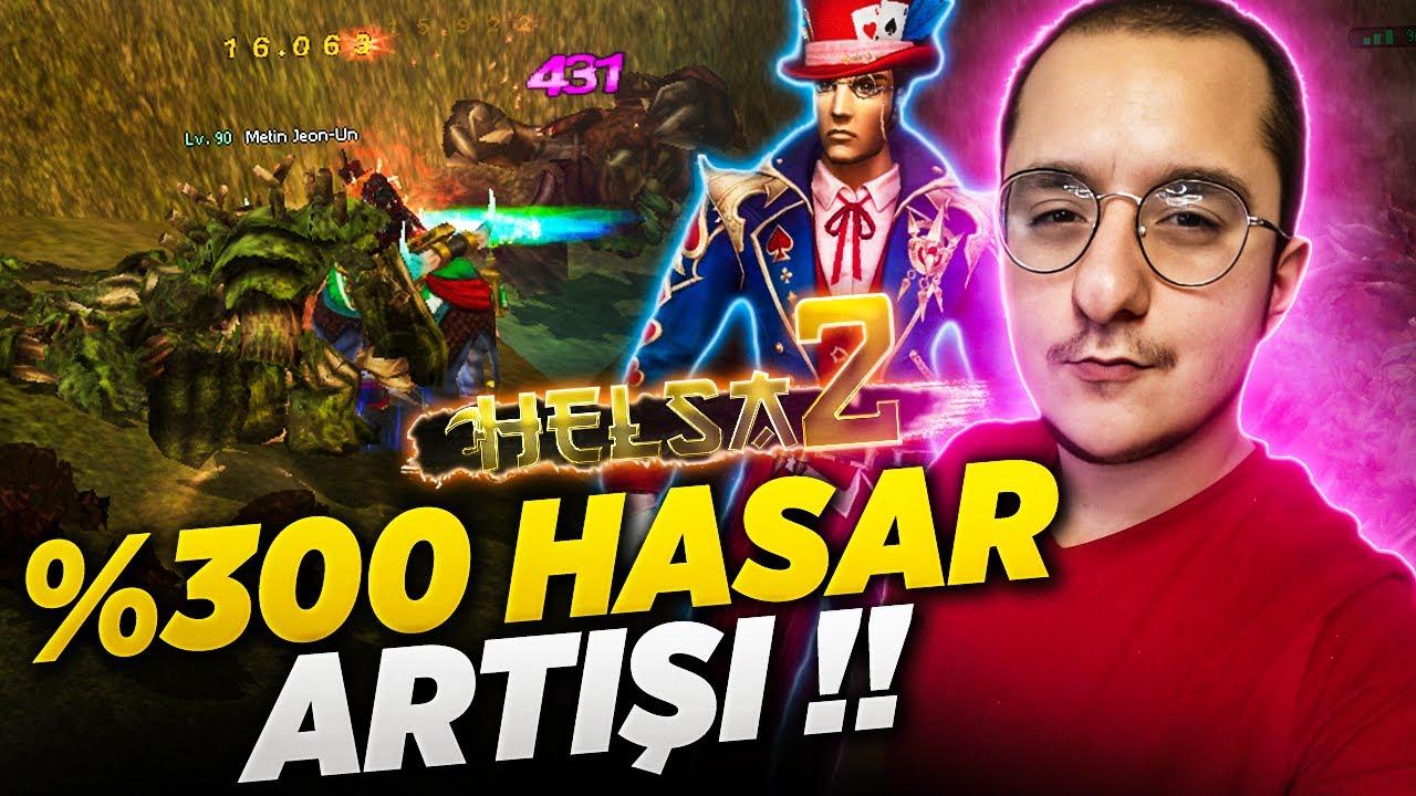 HASARIMIZ %300 ARTTI ! Helsa2 #Metin2Pvp #Metin2