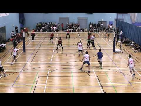 All Nations Volleyball 2015 Men's Division 1 Finals Italy Green vs Africa
