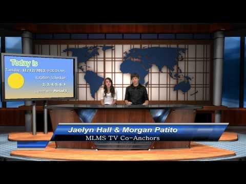 Mira Loma Middle School TV LIVE for November 12, 2013