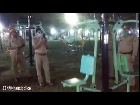 Policiais viram fantasmas malhando em academia ao ar livre?