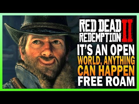 It's An Open World, Anything Can Happen - Red Dead Redemption 2 [Xbox One X] thumbnail