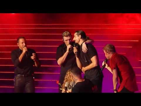 Backstreet Boys - Shape Of My Heart (with Ava) - 6/15/17 - Las Vegas  #BSBVegas