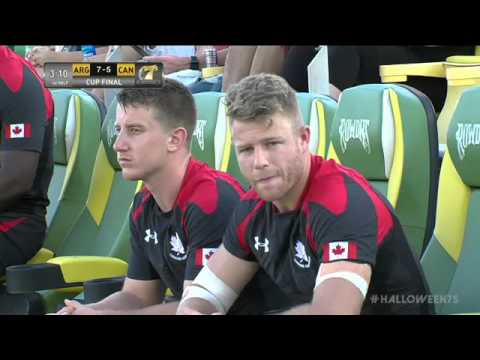 Canada Maple Leafs v Argentina at 2015 Halloween 7s