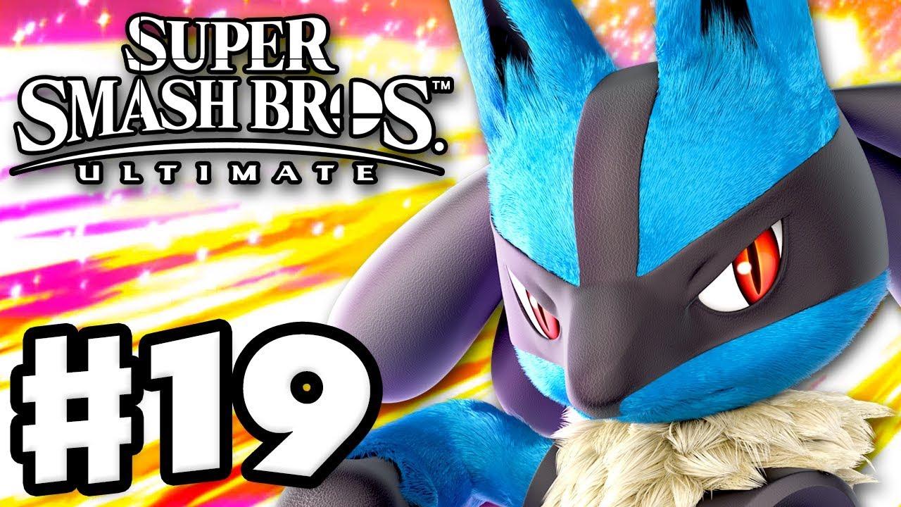 Lucario! - Super Smash Bros Ultimate - Gameplay Walkthrough Part 19  (Nintendo Switch)
