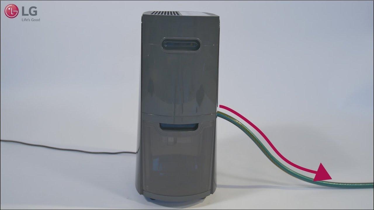 dehumidifier continuous drain hookup