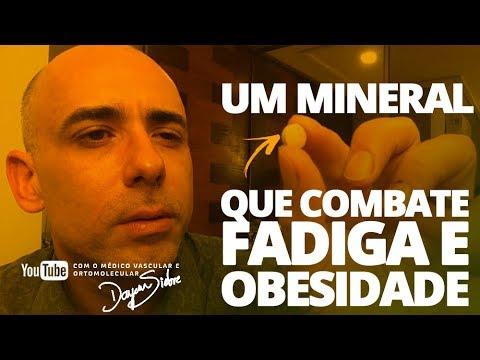 Um mineral que combate FADIGA E OBESIDADE | Dr. Dayan Siebra
