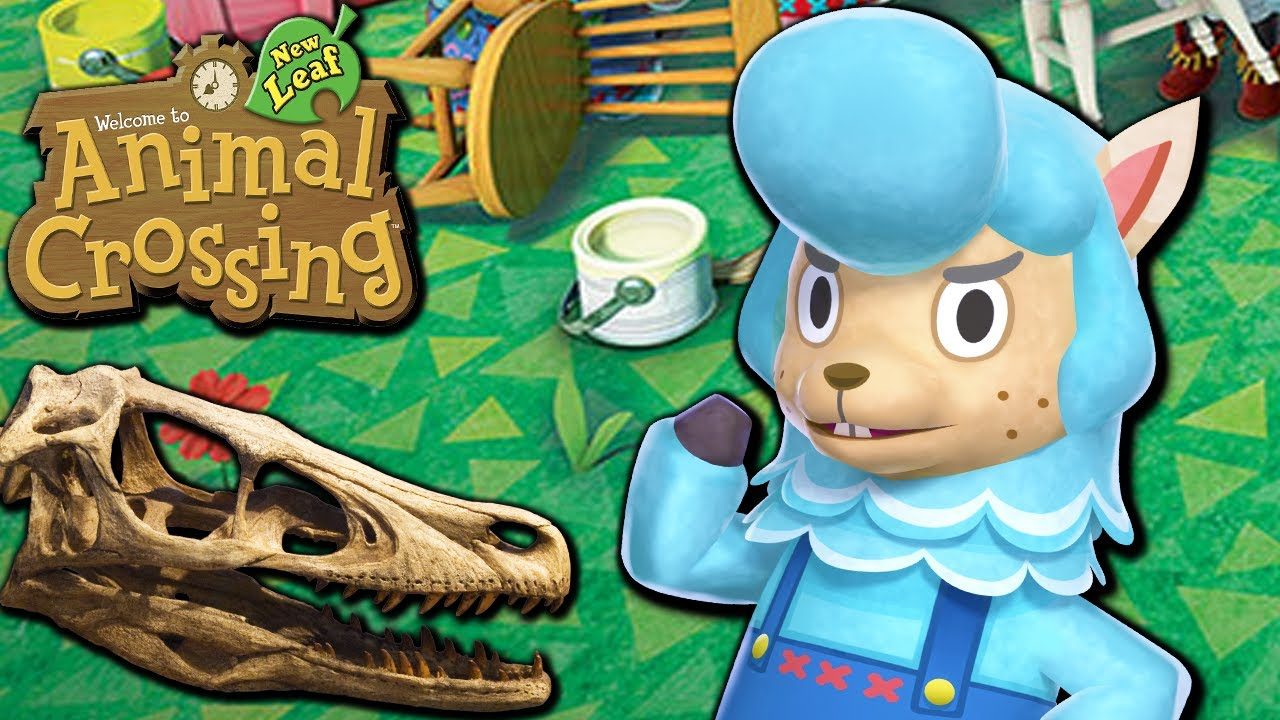 Animal Crossing: New Leaf - Dino Debate (Nintendo 3DS ...