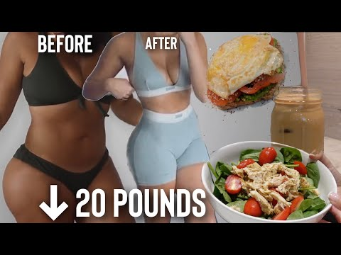 WHAT I EAT IN A DAY TO LOSE WEIGHT AND BE HEALTHY | EASY AND REALISTIC | ALLYIAHSFACE